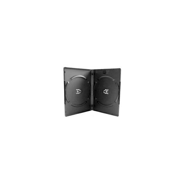 DVD-BOX dvostruki, crni