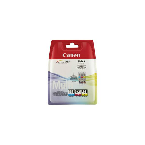 CANON CLI-521 Multipack cmy BLISTER