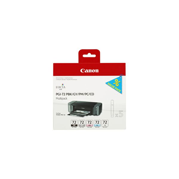 CANON PGI-72 PBK/GY/PM/PC/CO Multi Pack