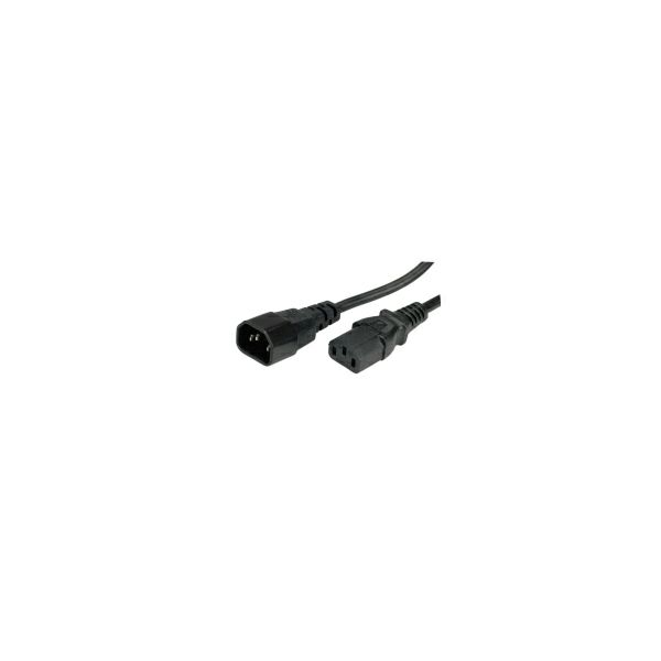 Roline VALUE naponski kabel PC-Monitor, crni, 1.8m