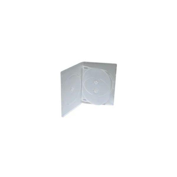 DVD-BOX četverostruki, prozirni