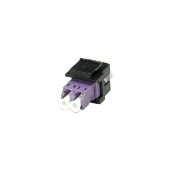 Roline optička keystone utičnica, LC/LC Duplex, Multimode, OM4