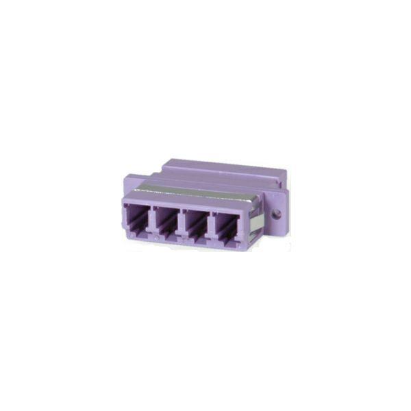 Roline VALUE optički adapter LC četverostruki, OM4, PB