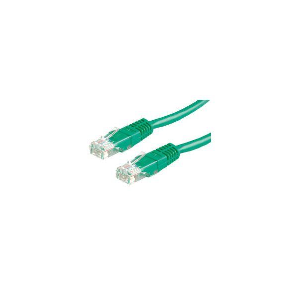 Roline VALUE UTP mrežni kabel Cat.6, 5.0m, zeleni