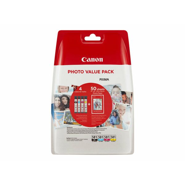 CANON INK CLI-581 BK/C/M/Y PHOTO