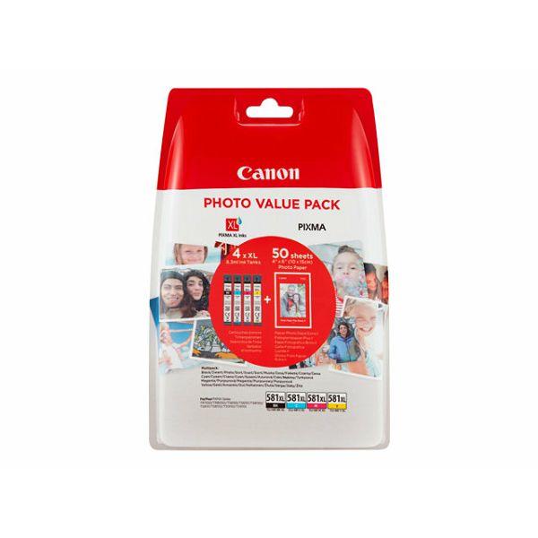 CANON INK CLI-581XL BK/C/M/Y PHOTO