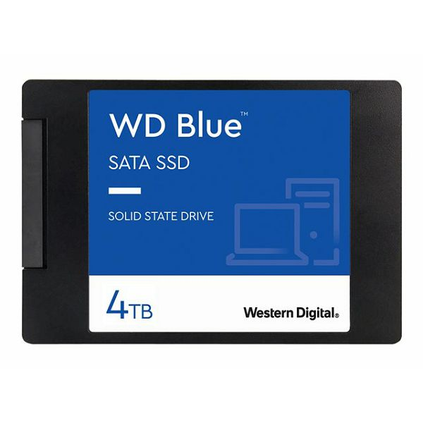 WD Blue SSD 3D NAND 4TB 2.5inch SATA III