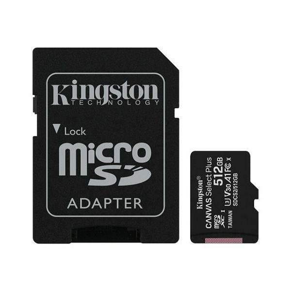 KINGSTON 512GB micSDXC Canvas SelectPlus