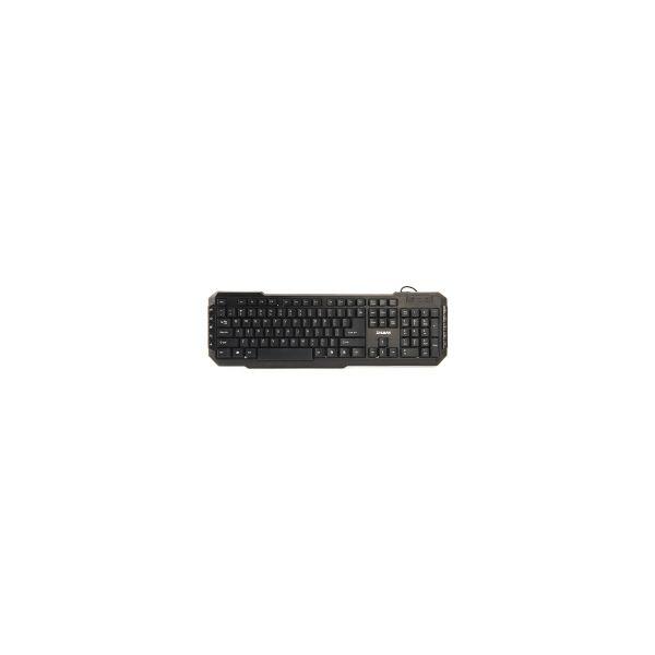 Zalman ZM-K200M multimedijalna tipkovnica, USB, crna