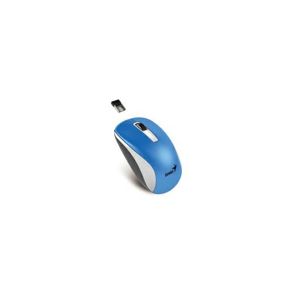 Genius NX-7010 BlueEye bežični miš USB, bijelo-plavi