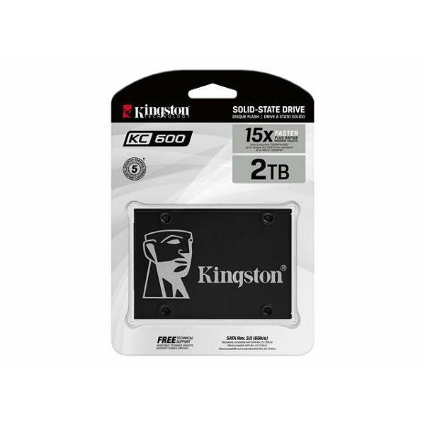 KINGSTON 2048GB SSD KC600 SATA3 2.5inch