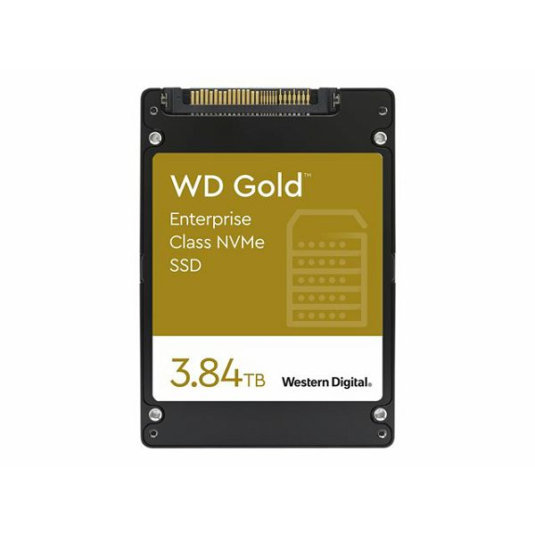 WD Gold NVMe SSD 3.84TB 2.5inch U.2
