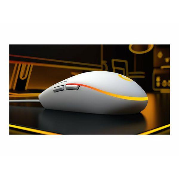 LOGI G203 LIGHTSYNC Gaming Mouse White