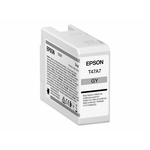 EPSON Singlepack Gray T47A7 UltraChrome