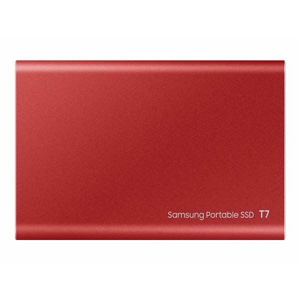 SAMSUNG Portable SSD T7 1TB red