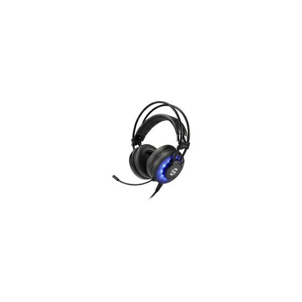 Sharkoon Skiller SGH2 stereo igraće slušalice sa mikrofonom, LED plavi, USB
