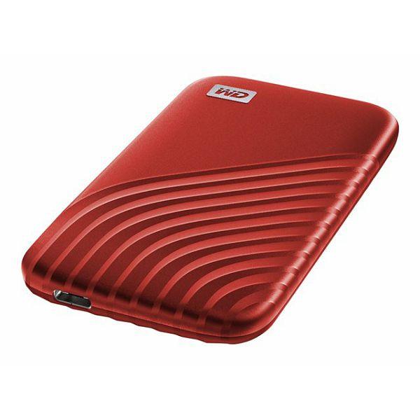 WD My Passport SSD 1TB Red