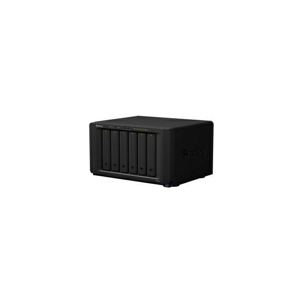Synology DS1618+ DiskStation 6-bay All-in-1 NAS server, 2 5