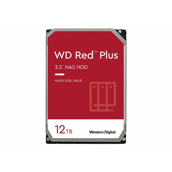 WD Red Plus 12TB SATA 6Gb/s 3.5inch HDD