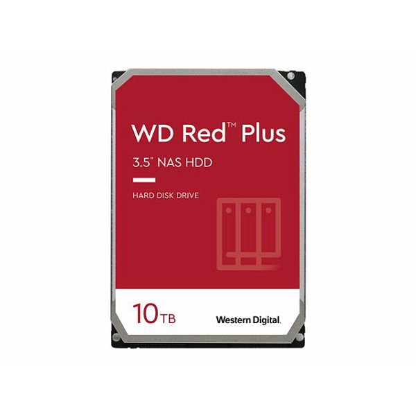 WD Red Plus 10TB SATA 6Gb/s 3.5inch HDD