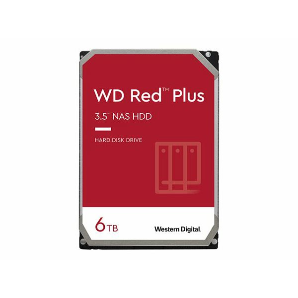WD Red Plus 6TB SATA 6Gb/s 3.5i HDD