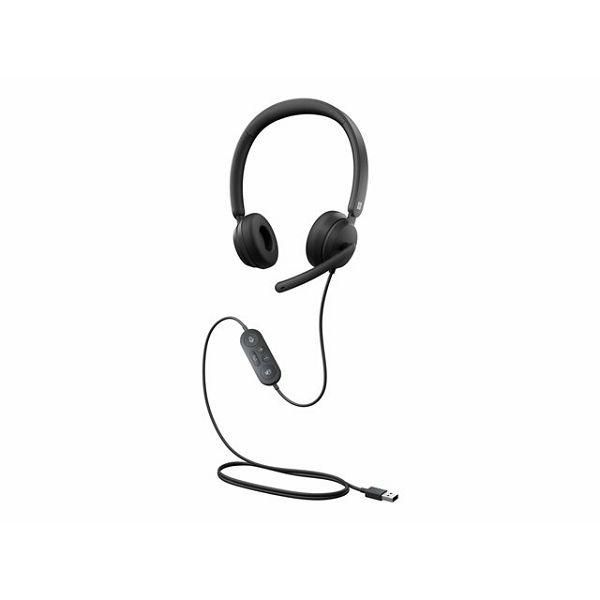 MS Modern USB Headset Black