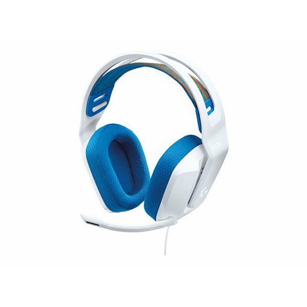 LOGI G335 Wired Gaming Headset - WHITE
