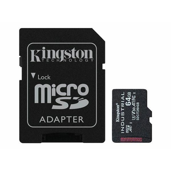 KINGSTON 64GB microSDXC Industrial C10