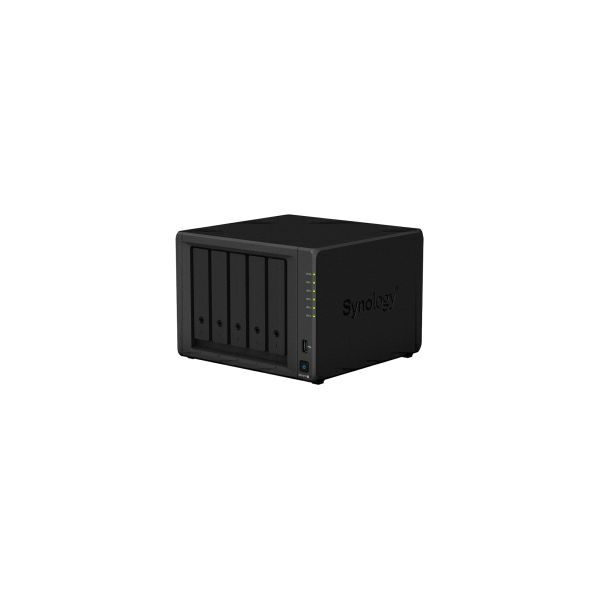 Synology DS1019+ DiskStation 5-bay All-in-1 NAS server, 2 5
