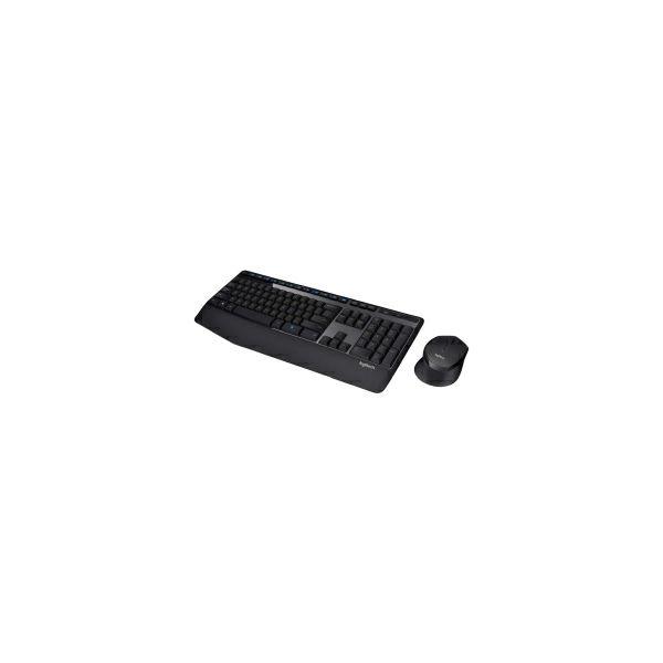 Logitech MK345 bežična tipkovnica+miš, USB, crna (920-006489)