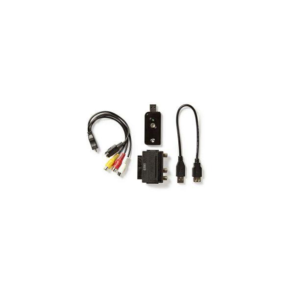 KONIG USB2.0 audio/video grabber, A/V kabel, scart