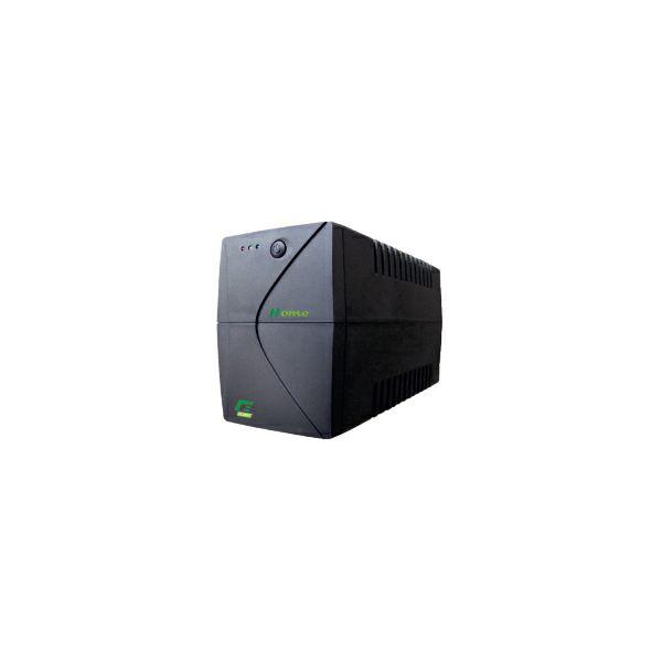 Elsist UPS Home 750VA/450W, Line-Interactive, noise filtering, overvoltage/undervoltage/overload/shortcircuit protection