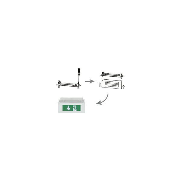 Ovjesni piktogram za panik svjetiljku EME-507L50