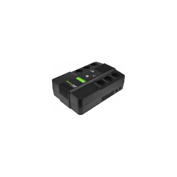 Green Cell UPS AiO 600VA/360W, Line Interactive AVR, LCD