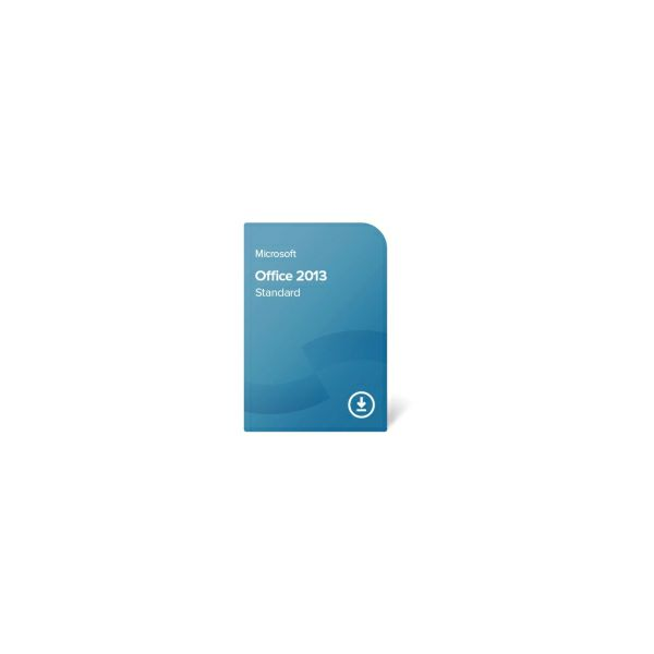 Microsoft Office 2013 Standard 32/64-bit ESD elektronička licenca