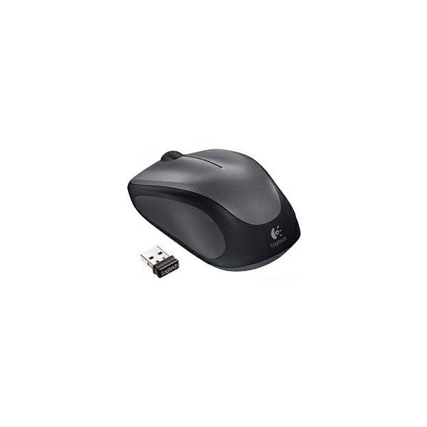Logitech M235 bežični optički miš, USB, crno-sivi (910-002201)