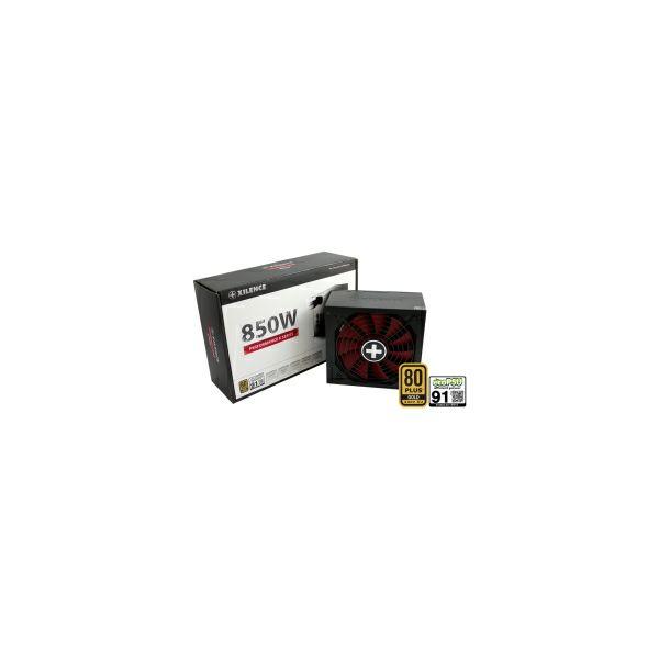 Xilence 850W Performance X, ATX 2.4 80+ GOLD, aktivan PFC, 4×PCIe, 8×SATA, 20+4-pina, 135mm ventilator, crno