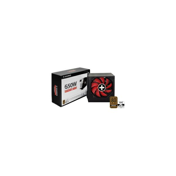 Xilence 650W Performance A+ III, ATX 2.52 80+ BRONZE, aktivan PFC, 2×PCIe, 5×SATA, 20+4-pina, 120mm ventilator, crno