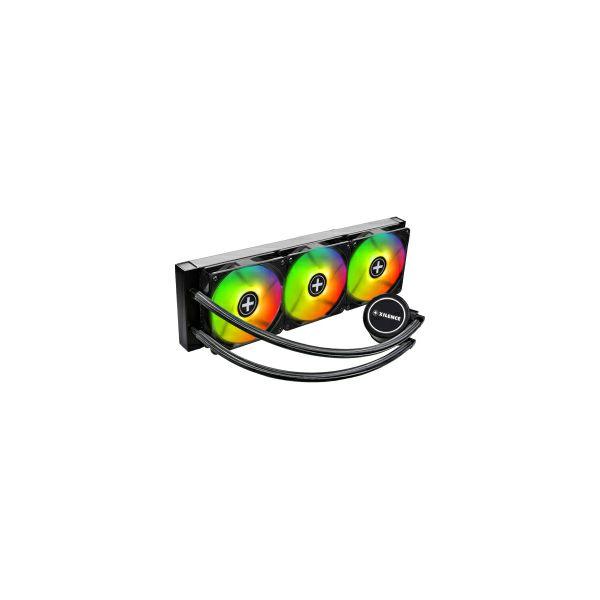 Xilence LiQuRizer LQ360RGB vodeno hlađenje za procesore Intel/AMD Multi socket, RGB 3×120mm ventilator