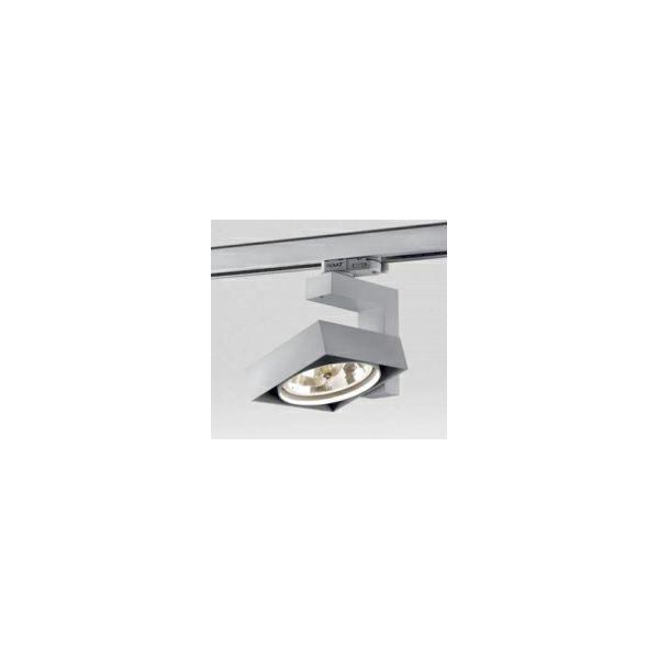 Delta Light tračni reflektor Spatio - sivi