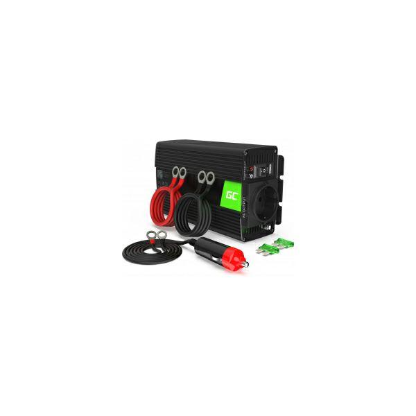 Green Cell strujni inverter 12V na 230V, 500W/1000W (INV03DE)