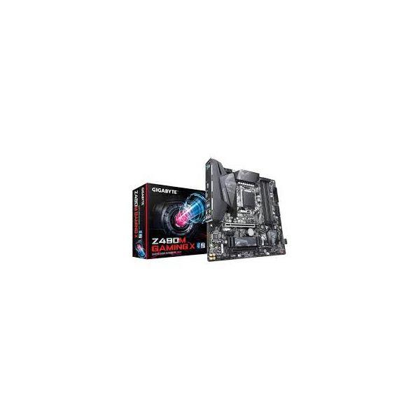 Matična ploča GigaByte MB Z490M GAMING X, S.1200, DDR4/4600(OC), PCIe, SATA3, M.2, RAID, G-LAN, HDMI, USB3.2, 7.1ch., mATX