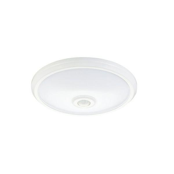 EcoVision LED plafonijera sa senzorom pokreta 2 x E27, 360°, IP20
