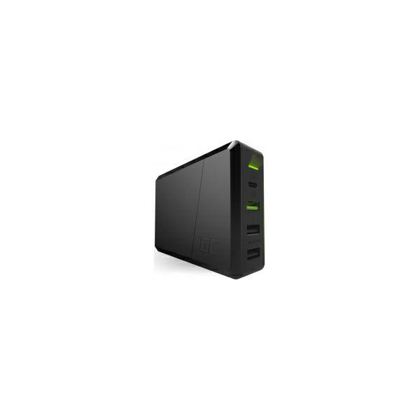 Green Cell (CHARGC01) 75W 4-portni punjač USB-C PD