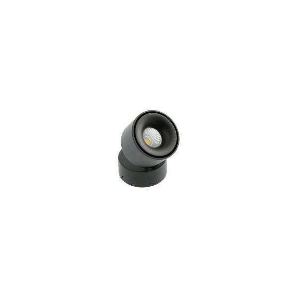 Nadgradna LED svjetiljka BIANCO 8W 4000K 680Lm IP20 zakretna 360°- crna