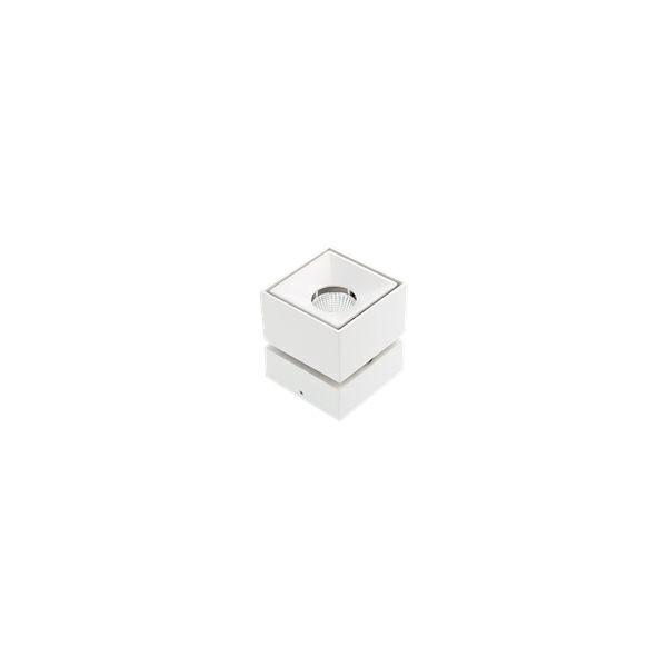 Nadgradna LED svjetiljka BIANCO 8W 4000K 680Lm IP20 zakretna 360°- bijela ( kvadratna )