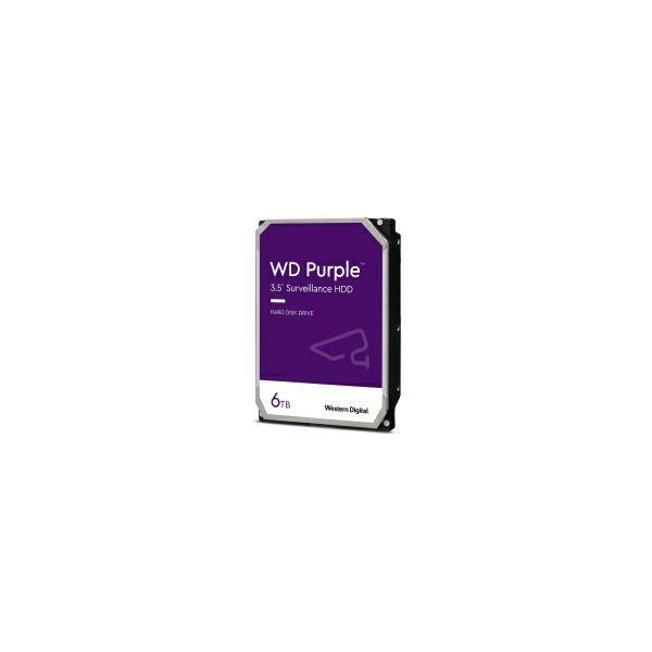 Western Digital Purple 6TB SATA3, 5400rpm, 128MB cache (WD62PURZ)