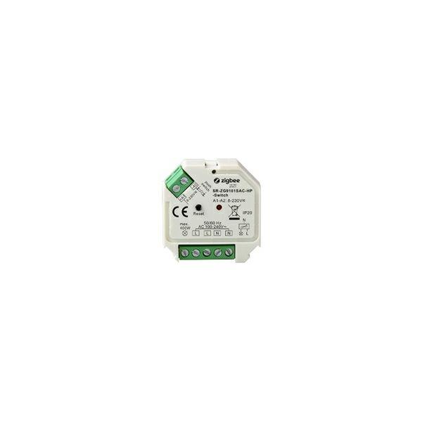 EcoVision LED/ AC  RF switch podžbukni  upravljan RF signalom,tipkalom, ZIGBEE protokol  (400W )