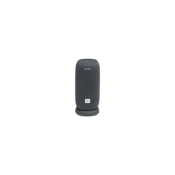 JBL LINK Portable prijenosni zvučnik, Wi-Fi/BT4.2, 360° Google asistent, IPX7, sivi