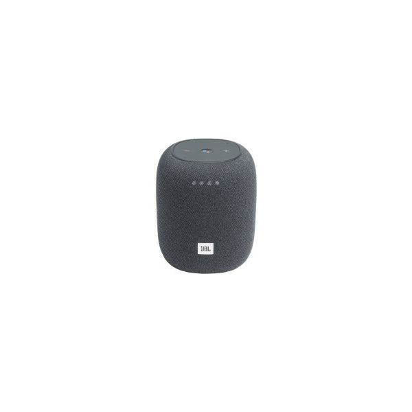 JBL LINK MUSIC bežični zvučnik, Wi-Fi/BT4.2, 360° Google asistent, sivi